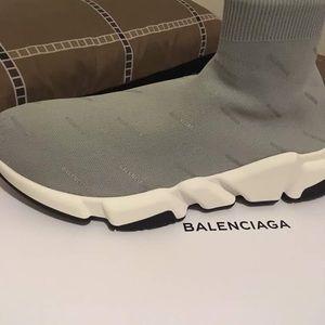 Balenciaga Speed Sneakers printed logo